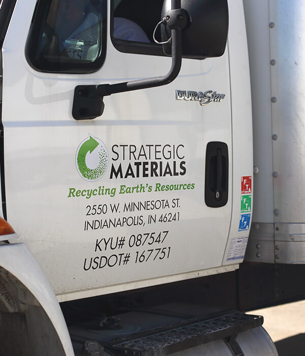 Strategic Materials truck